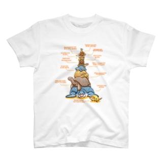 カメタワーT T-shirts