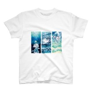 海と少女シリーズ T-shirts