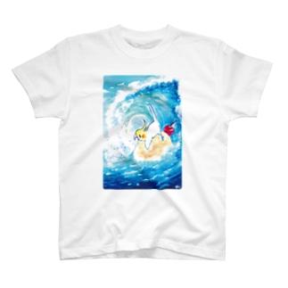 クリームソーダの波 T-shirts