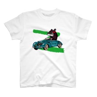 RACING KNUCKLE BEAR T-shirts