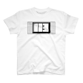 グリッド付き113ロゴ T-shirts