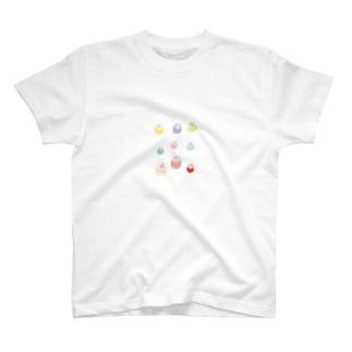 福だるまギャラリー T-shirts