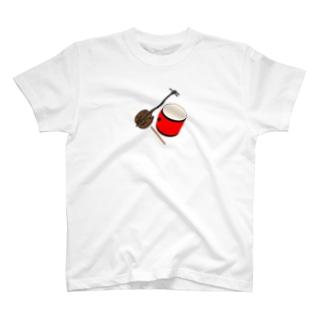 エイサー三線 T-Shirt