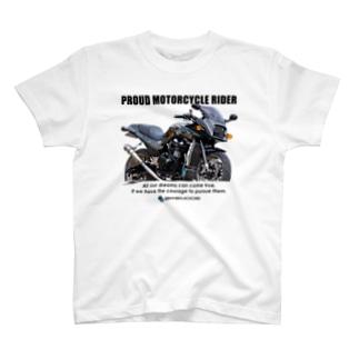 Kawasaki GPZ900R Tシャツ typeI T-shirts