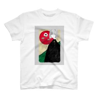 陽が昇る T-shirts