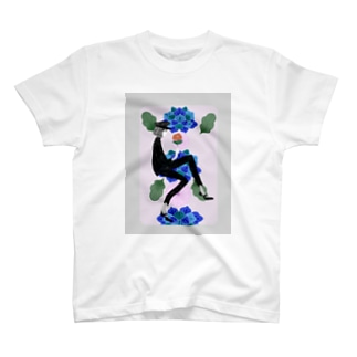 青い T-shirts