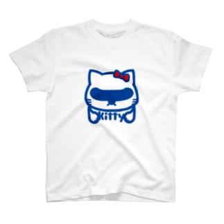 パ紋No.2745 kitty T-shirts