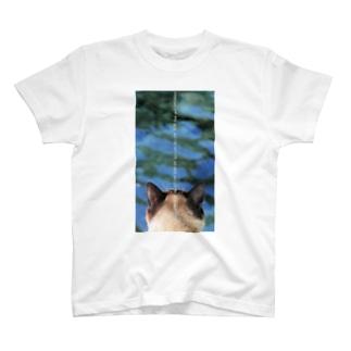 川を見る T-shirts