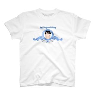 レオ・ザ・ガール(ブルー) T-shirts