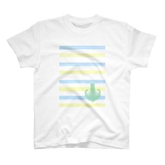 ジェラートラテアート /パイナップル×ブルーハワイ T-shirts