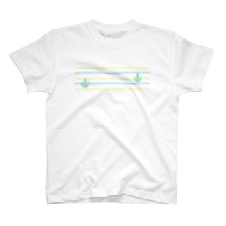 ジェラートラテアート~Landscape~ /パイナップル×ブルーハワイ T-shirts