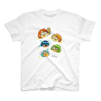 こどはり百面相 T-shirts