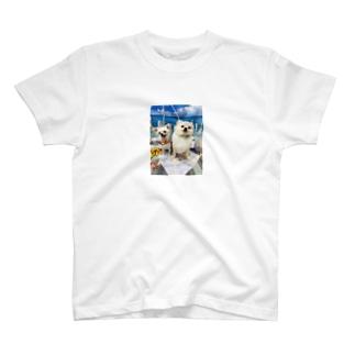 夏のいっぬ達 T-shirts