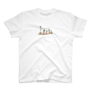 のほほんプランツ T-shirts