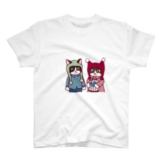 まつり・ミコトの青い鳥 T-shirts