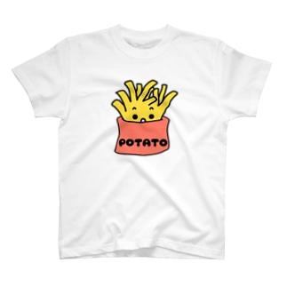 食べたくなるポテト T-shirts