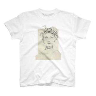 タコ女性 T-shirts