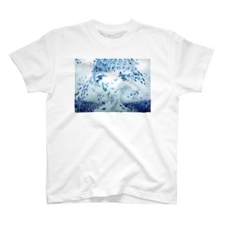 海と街とおんなのこ T-shirts