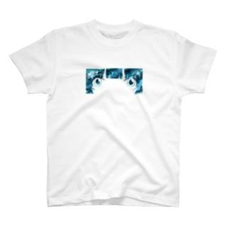 ブルーアイ T-shirts