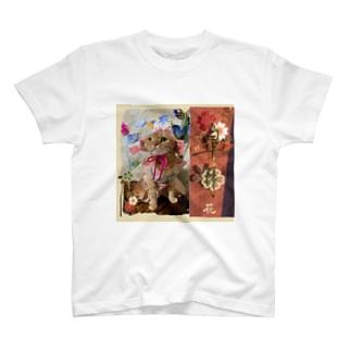 カレンダー画像*5月*花ちゃん T-shirts