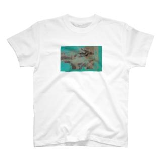 デジタルアブストラクト T-shirts