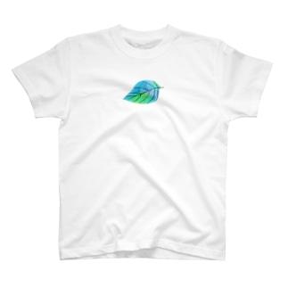 アオイロ個葉 T-shirts