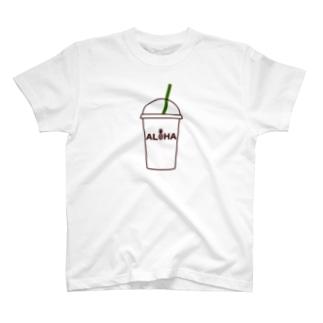 ALOHA コーヒー 021 T-shirts