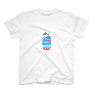 海のパフェ T-shirts