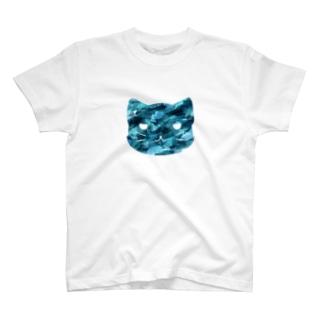 ブルーキャット T-shirts