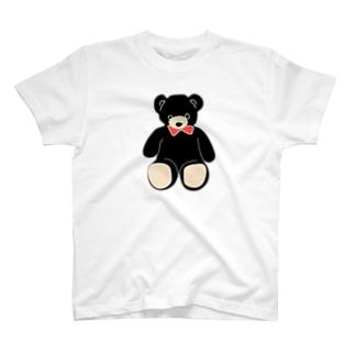 くまシンプル T-shirts