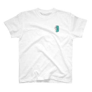こころのトビラ(閉じ気味) T-shirts