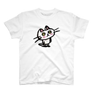もの思うネコ T-shirts