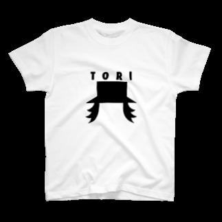 な菌め類たけのTORI T-shirts