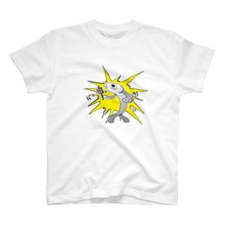 やすのマニ車を回す魚 T-shirts