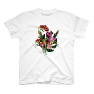 夏の花束- front  T-shirts