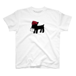 黒ヤギさんからお手紙ついた T-shirts