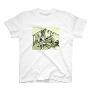 今日はもう、いいか… T-shirts