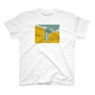 檸檬倶楽部のいつもここから(きいろ) T-shirts