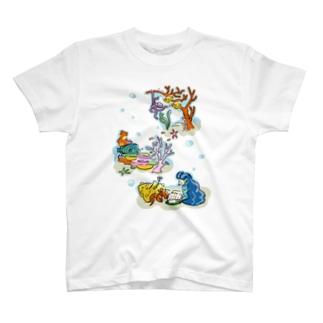 海のともだち T-shirts