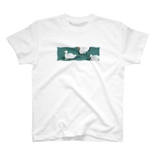 HOHOEMI🍋のアヒルの池シャツ T-Shirt