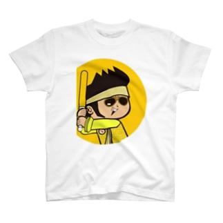 Rock★Star Guitar School 公式Goodsのshinnosukeボウヤ T-shirts