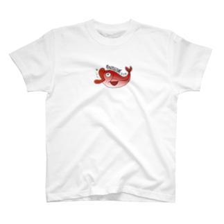 กินไม่ได้ キンメダイ T-shirts