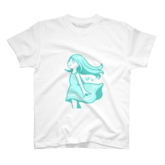 なつのひ、ラムネカラー T-Shirt