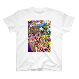 陰陽女神 T-shirts