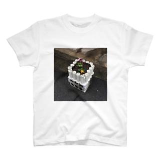 謎プランター T-shirts