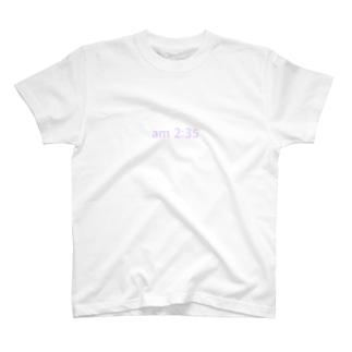 am 2:35 T-shirts