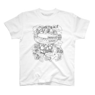 へちまと世界一周のたび T-shirts
