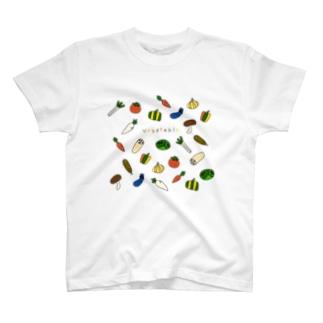 野菜イラストvegetable T-shirts