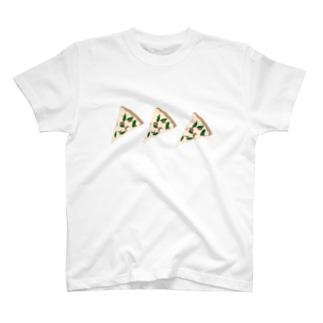 ピザを食べよう T-shirts