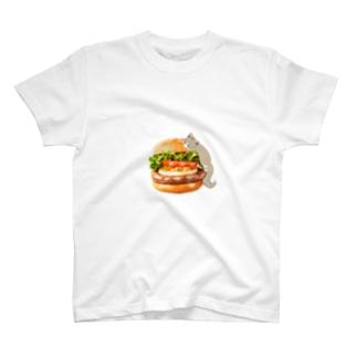 ハンバーガーTシャツ🍔 T-shirts